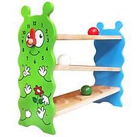 Banh Lăn Zíc Zắc Hình Sâu Mk - Đồ chơi gỗ
