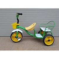 Xe đạp 3 bánh xích lô kéo (2 ghế) cao...