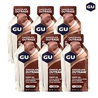 GU Energy Gel Năng Lượng Hỗ Trợ Tăng Sức Bền Vị Chocolate Outrange - Combo 6 Gói