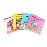Combo Elmer's Board Book - Song Ngữ