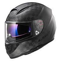 Mũ Bảo Hiểm Fullface LS2 Vector Carbon FF397 - Đen