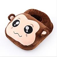 Túi sưởi chân hình con khỉ (nâu)