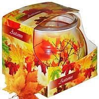 Ly nến thơm tinh dầu Admit Autumn 85g QT06344 - lá phong đỏ