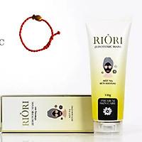 Mặt Nạ Bùn Khoáng Riori Zerotoxic Mask (100g) - Tặng Kèm Vòng Tay Phong Thủy May Mắn