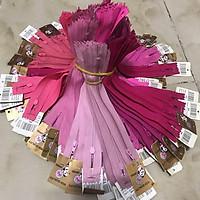 Dây kéo HKK 18cm may quần tây, bóp ví tông hồng