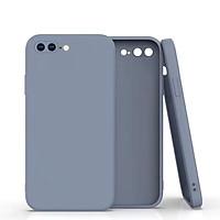 Ốp Lưng TPU Dẻo Viền Vuông Giả iPhone 12 Dành Cho iPhone 6,7,6 Plus,7Plus,X,Xr,Xs Max,11,11 Pro, 11 Pro Max- Hàng Chính Hãng