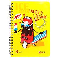 Sổ Lò Xo Cool 4139 B5 (160 Trang) - Mẫu 1 - What's Up Dude