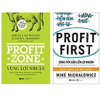 Combo Sách Để Tối Đa Hóa Hiệu Quả Kinh Doanh : Profit Zone - Vùng Lợi Nhuận + Dòng Tiền Gắn Liền Lợi Nhuận