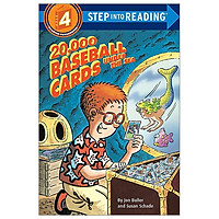 20,000 Baseball Cards Under The Sea - Step Into Reading Level 4