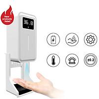 Automatic Sensor Soap Liquid Dispenser with Non-ctontact Body Thermometer