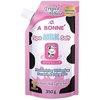 Muối tắm sữa bò tẩy tế bào chết A Bonne' Spa Milk Salt 350g Thái Lan