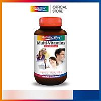 Viên Uống Bổ Sung Vitamin Tổng Hợp Và Khoáng Chất Cung Cấp Năng Lượng Cho Ngày Dài Holistic Way (60 Viên)