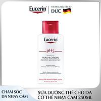 Sữa Dưỡng Thể Cho Da Cơ Thể Nhạy Cảm Eucerin Sensitive Skin pH5 Lotion 250ml