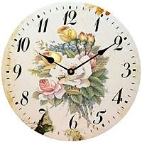Đồng hồ treo tường phong cách cổ MS 33