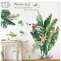 Decal dán tường PVC có sẵn keo, giấy dán tường, tranh dán tường, hình dán tường trang trí phòng ngủ đẹp