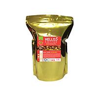 Cà phê xay nguyên chất Gold Deluxe Hello 5 Coffee - Gói 1kg