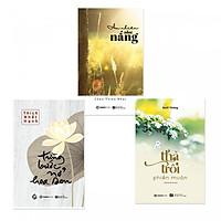 Bộ sách Thả Trôi Phiền Muộn (Tái Bản), Từng bước Nở Hoa Sen, An Nhiên Như Nắng