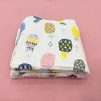 Khăn xô 6 lớp vệ sinh, lau khô, tắm cho bé sơ sinh 100% cotton 110x110  cm