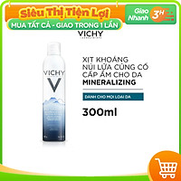 Xịt Khoáng Vichy Mineralizing Thermal Water 300ml