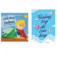 Combo sách giúp con tự lập : Sắn sàng để đến trường + Buông tay để con bay - Tặng kèm bookmark Happy Life