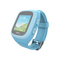 Đồng hồ định vị màn hình cảm ứng Kiddy 2 Touch 2018 (màu xanh) - Hàng Chính Hãng - Tặng vòng tay Ruby