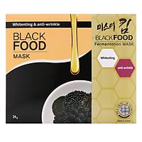 Mặt Nạ Dưỡng Da Mr.Kim Black Food (24g x 5)