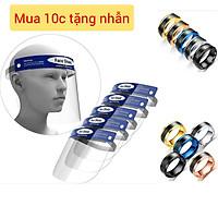 Mặt nạ kính chống giọt bắn Face Shield (Mua 10 cái tặng nhẫn cảm biến nhiệt độ)