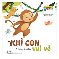 Vui Khỏe Cùng 12 Con Giáp - Khỉ Con Vui Vẻ  - A Funny Monkey (Song Ngữ Anh - Việt)