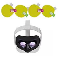 4PCS HD Clear Lens Film VR Screen Guard Guard Set for  Quest 1 Rift S