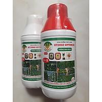 Combo 2 chai Phân bón dinh dưỡng thủy canh HYDRO OPTIMUM cho các loại rau ăn lá