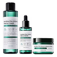 Bộ 3 sản phẩm ngăn ngừa và thâm Some By Mi AHA-BHA-PHA 30 Days Miracle (Toner, Serum, Cream)