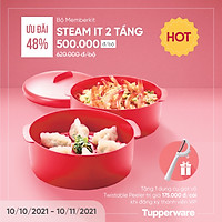 Xửng hấp 2 Tầng Tupperware Steam It