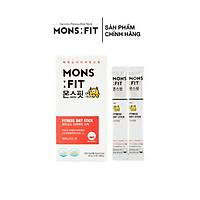 Siro Ăn Kiêng MONSFIT Fitness Diet Stick (HỘP/15 tuýp) - Nhập Khẩu Hàn Quốc
