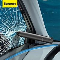 Dụng cụ thoát hiểm phá kính ô tô có đèn pin LED Baseus Savior Window Breaking Flashlight (tích hợp Đèn pin, phá kính) - Hàng chính hãng