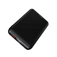 Pin sạc dự phòng cao cấp Baseus Mini S siêu nhỏ gọn Mini S v2 Digital Display Power Bank 10,000mAh cho Smartphone/ Tablet ( PD + QC 3.0, USB-C input/ Output ) - Hàng chính hãng