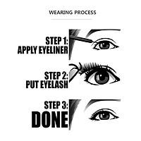 Magnetic False Eyelashes Eye Makeup Tools Waterproof Sturdy False Eyelashes