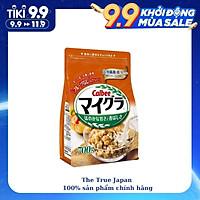 Ngũ cốc Calbee vị Yến Mạch và Sữa 700g - Nhập khẩu Nhật Bản
