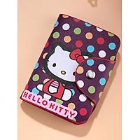 Ví bóp mini nữ Kitty cầm tay chứa 26 thẻ Atm, Visa, Card