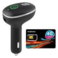 Bộ Phát Wifi 4G Cho Xe Ô Tô Huawei E8377 150Mbps + Sim 4G Viaphone trọn Gói 12 Tháng | 5.5GB/Tháng - Hàng Nhập khẩu