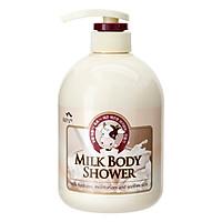 Sữa Tắm Chăm Sóc Da Tinh Chất Sữa Cosmocos Flor De Man Milk Body Shower 500ml