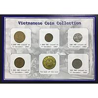 Bộ 5 Xu Việt Nam 200đ, 500đ, 1000đ, 2000đ, 5000đ Năm 2003 +Kèm Folder Sang Trọng