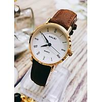 Đồng hồ Nam Halei  HL540 dây da cao cấp + Tặng Combo TẨY DA CHẾT APPLE WHITE PELLING GEL BEAUSKIN chính hãng