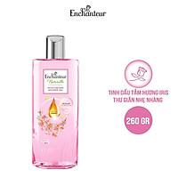 Sữa tắm dưỡng da Enchanteur Naturelle hương hoa Iris 260gr/Chai