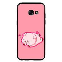 Ốp Lưng Viền TPU cho điện thoại Samsung Galaxy A3 2017 - Pig 2019 Mẫu 3