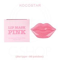Mặt nạ môi Kocostar Lip Mask Pink (20 miếng)