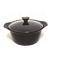 Nồi Ceramic lòng sâu cao cấp Living On 24cm xuất xứ Hàn Quốc - Dùng được bếp từ