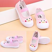 Giày búp bê vải cho bé gái 2- 13 tuổi phong cách Hàn Quốc G06