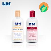 Dung dịch vệ sinh phụ nữ EUBOS 200ml + Sữa tắm pH 5.5 hương tự nhiên 200ml