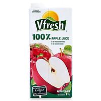 Thùng 12 hộp VFRESH Nước táo ép 100% (1Lx 12 hộp)