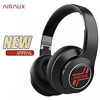 AirAux AA-ER3 bluetooth V5.0 Headphone 4 Units Deep Bass Low Latency 1000mAh Foldable Over-Ear Headset